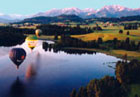 Ballonflug über den Starnberger See